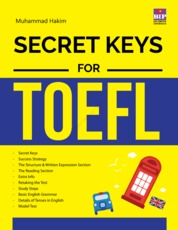 Secret Keys for TOEFL by Muhammad Hakim Cover