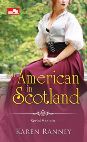 Cover HR: An American in Scotland oleh Karen Ranney