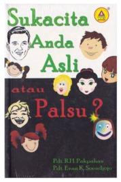 Cover Sukacita Anda Asli Atau Palsu? oleh Pdt.R.H. Pakpahan