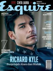 Esquire Indonesia Magazine Cover July–August 2017
