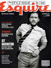 Esquire Indonesia Magazine Cover September 2017