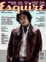 Esquire Indonesia Magazine Cover October 2017