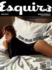 Cover Majalah Esquire Indonesia