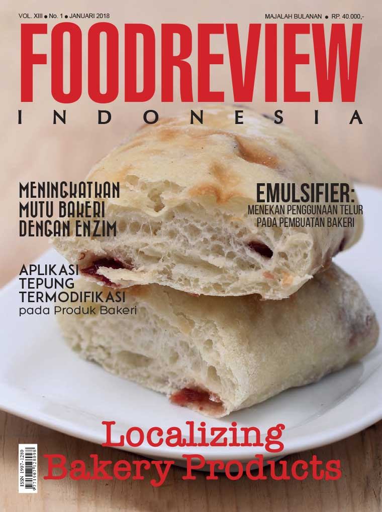 Majalah Digital FOOD REVIEW Indonesia Januari 2018