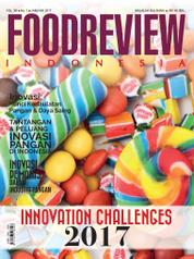 Cover Majalah FOOD REVIEW Indonesia Januari 2017