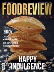 Cover Majalah FOOD REVIEW Indonesia Maret 2017