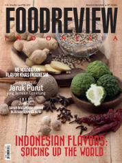 Cover Majalah FOOD REVIEW Indonesia April 2017