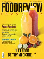 Cover Majalah FOOD REVIEW Indonesia Mei 2017