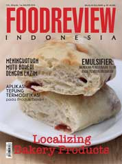 Cover Majalah FOOD REVIEW Indonesia Januari 2018