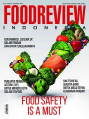 Cover Majalah FOOD REVIEW Indonesia April 2018