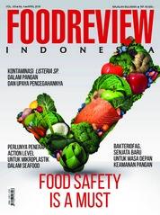 Cover Majalah FOOD REVIEW Indonesia April 2018