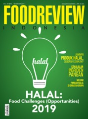 FOOD REVIEW Indonesia Magazine Cover January 2019