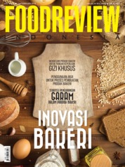 FOOD REVIEW Indonesia Magazine Cover February 2019