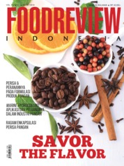 FOOD REVIEW Indonesia Magazine Cover March 2019