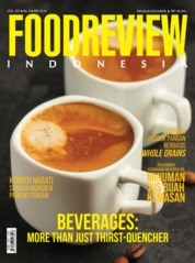 FOOD REVIEW Indonesia Magazine Cover May 2019