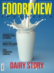FOOD REVIEW Indonesia Magazine Cover