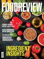 FOOD REVIEW Indonesia Magazine Cover August 2019