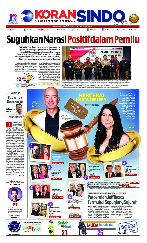 Koran Digital Koran Sindo 11 Januari 2019