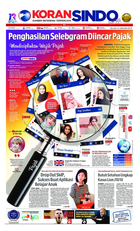 Koran Digital Koran Sindo 15 Januari 2019