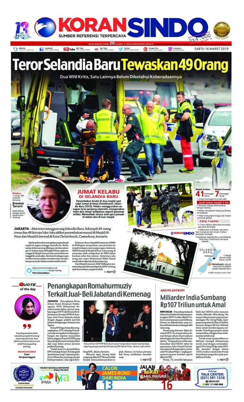 Koran Digital Koran Sindo 16 Maret 2019