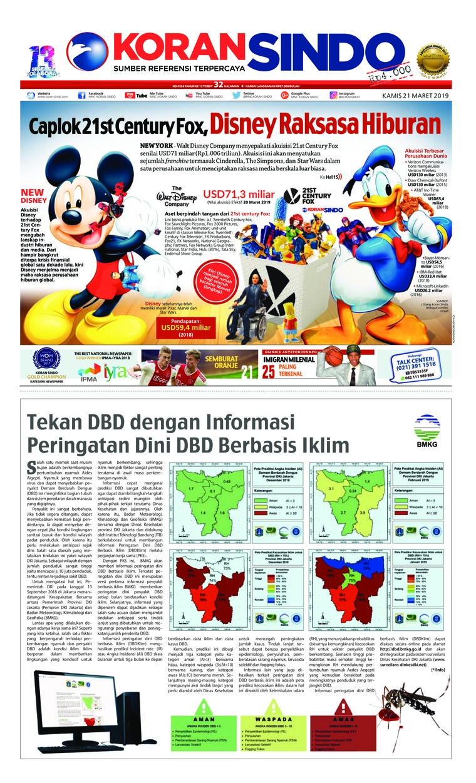 Koran Digital Koran Sindo 21 Maret 2019