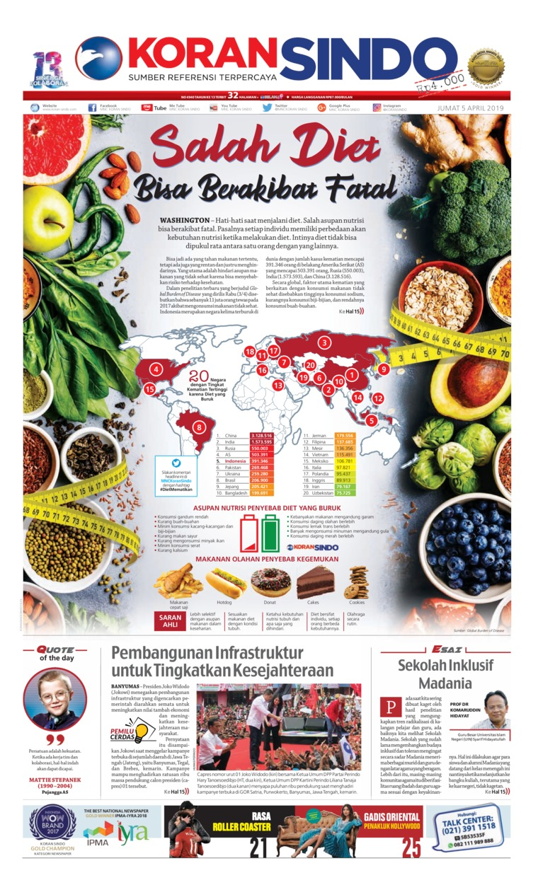 Koran Digital Koran Sindo 05 April 2019