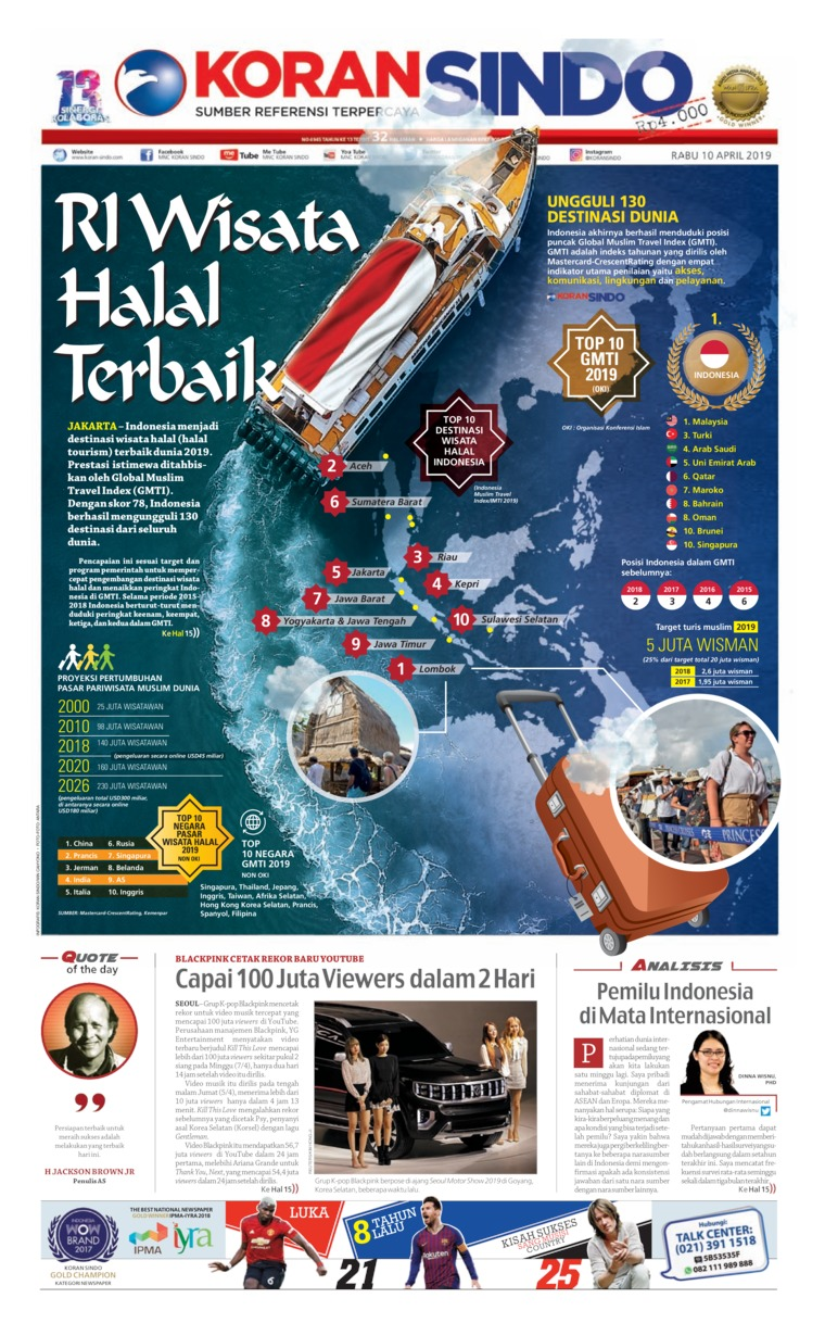 Koran Digital Koran Sindo 10 April 2019