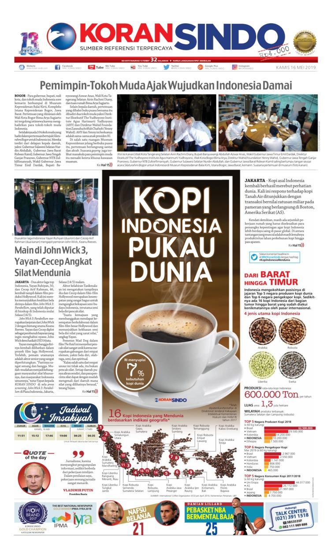 Koran Digital Koran Sindo 16 Mei 2019