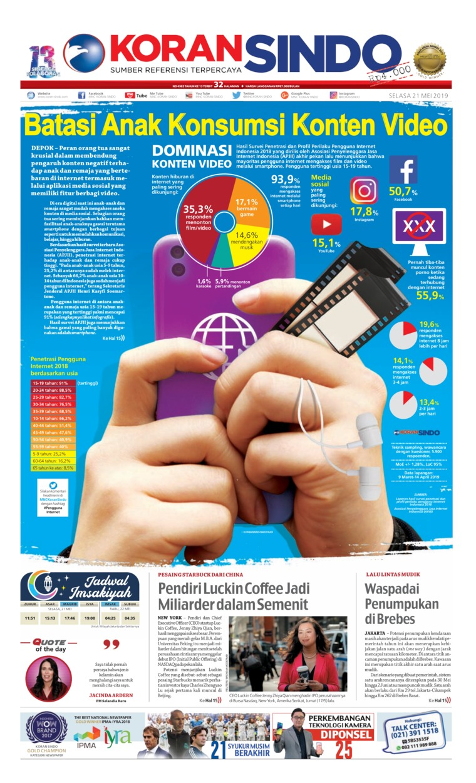 Koran Digital Koran Sindo 21 Mei 2019