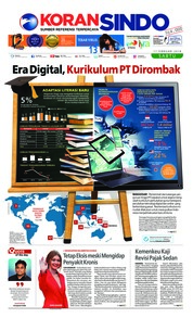 Cover Koran Sindo 17 Februari 2018