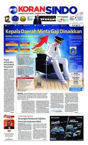 Cover Koran Sindo 22 Februari 2018