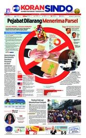 Cover Koran Sindo 05 Juni 2018