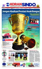 Cover Koran Sindo 10 Juli 2018