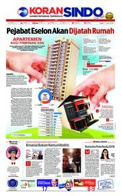 Cover Koran Sindo 11 Juli 2018