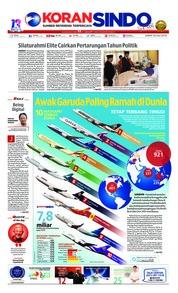 Cover Koran Sindo 20 Juli 2018