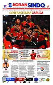 Cover Koran Sindo 12 Agustus 2018