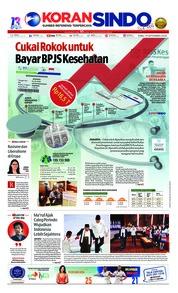 Cover Koran Sindo 19 September 2018