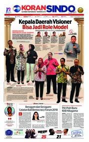 Cover Koran Sindo 05 Desember 2018