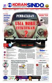 Cover Koran Sindo 10 Januari 2019
