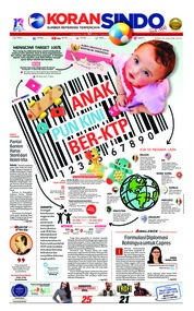 Cover Koran Sindo 16 Januari 2019