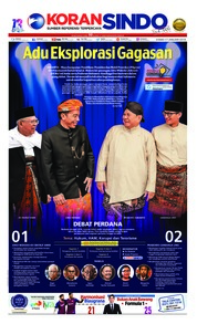 Cover Koran Sindo 17 Januari 2019