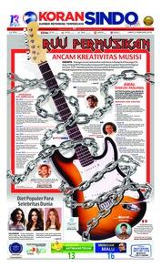 Cover Koran Sindo 02 Februari 2019