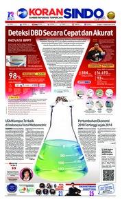 Cover Koran Sindo 07 Februari 2019