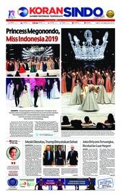 Cover Koran Sindo 16 Februari 2019