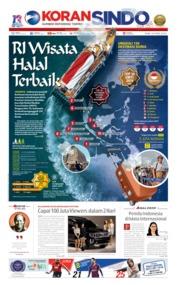 Cover Koran Sindo 10 April 2019