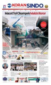 Cover Koran Sindo 11 April 2019