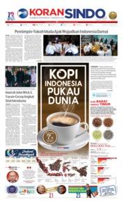 Cover Koran Sindo 16 Mei 2019