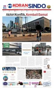 Koran Sindo Cover 24 May 2019