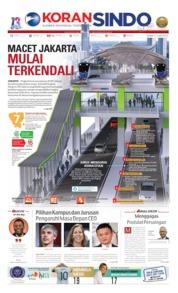Cover Koran Sindo 17 Juni 2019