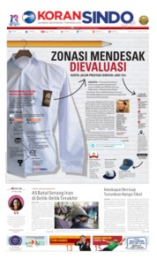 Koran Sindo Cover 22 June 2019